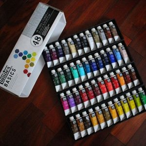 Other - Acrylic Paint + 5pc Brushes